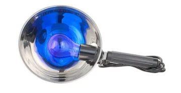 Синяя лампа для чего применяется