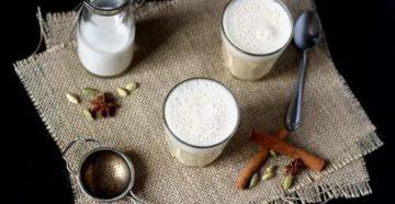 Молоко со специями на ночь