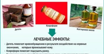 Мазь вишневского состав применение