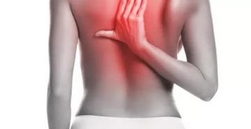 Опоясывающая боль в спине под лопатками