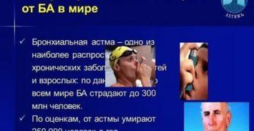 Смерть от астмы