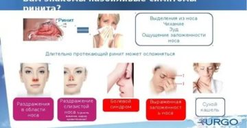 Ожог слизистой носа симптомы