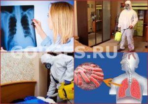 Дезинфекция помещений при туберкулезе